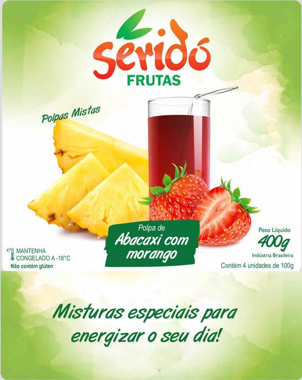 Abacaxi com Morango